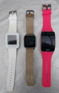 U8 U watch vs Pebble Time Steel vs Samsung Gear S